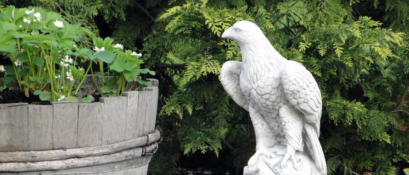 Новая коллекция садовых фигур из полистоуна