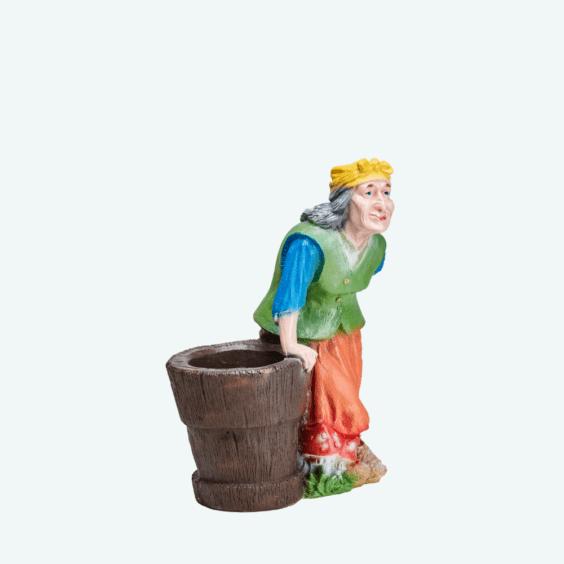 Баба-яга кашпо