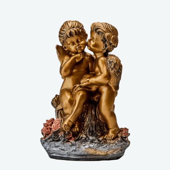 Ангел «Поцелуй» бронза