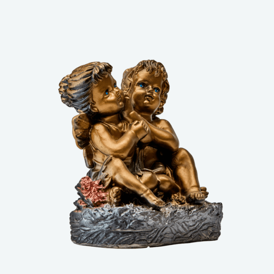 Ангел и фея бронза