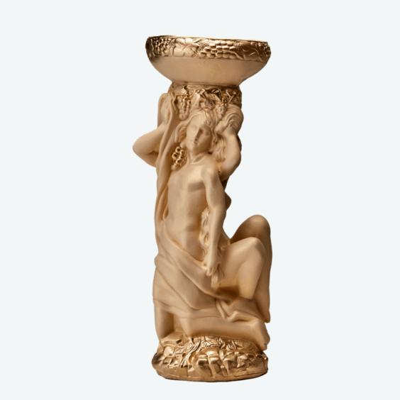 Адам и Ева кашпо слоновая кость