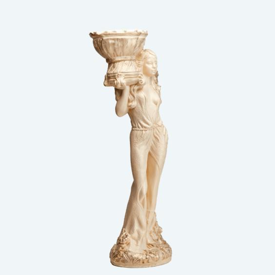 Диана кашпо слоновая кость