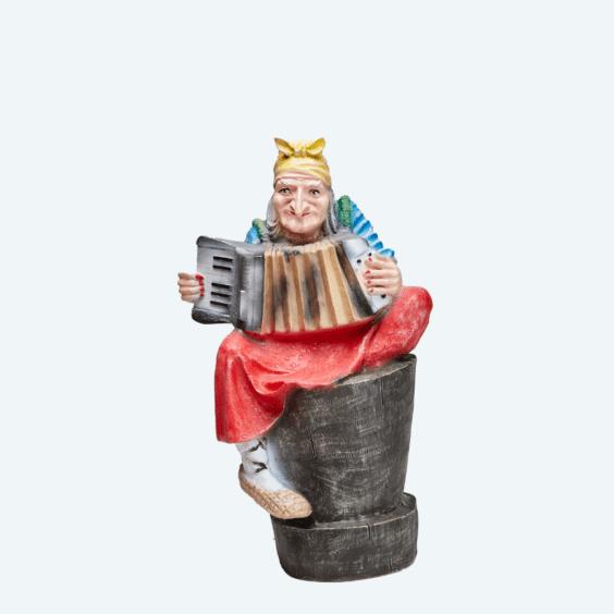 Баба-яга с гармонью