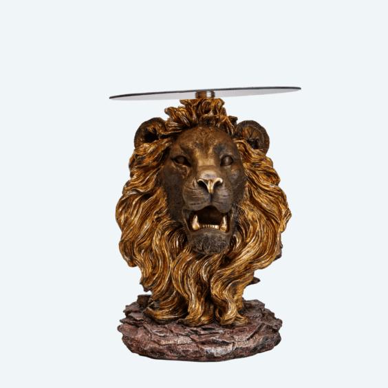 Стол голова льва