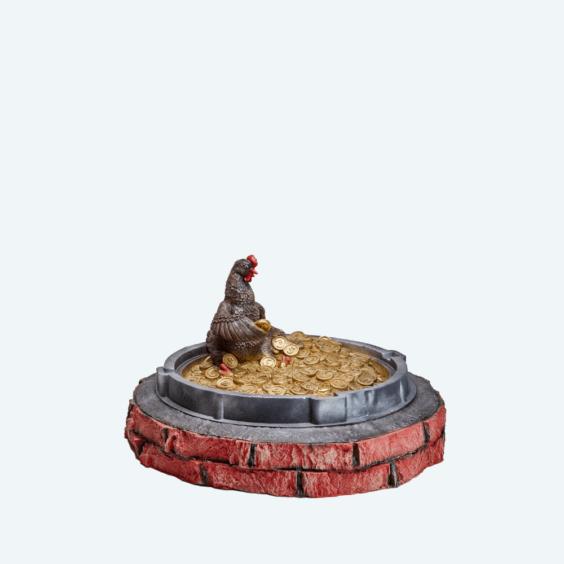 Люк «Курочка ряба»