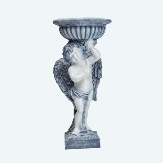 Ангел кашпо огромное античный